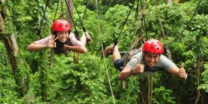 Subic Tree Top Adventure Package 1 (Canopy Ride + Superman)